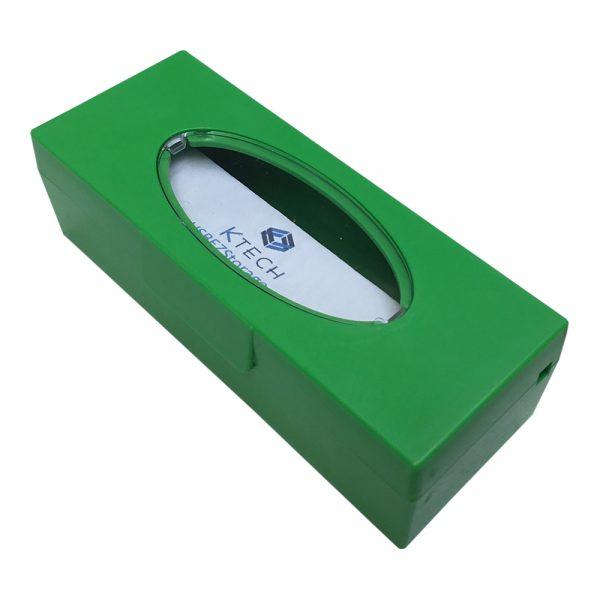 Green KTech USB Flash Drive Storage Case