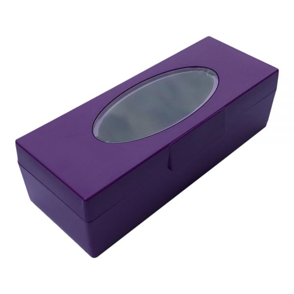 Purple KTech USB Flash Drive Storage Case