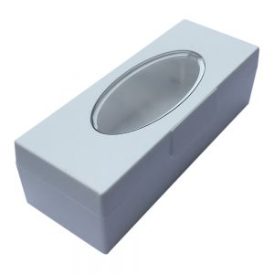 White KTech USB Flash Drive Storage Case
